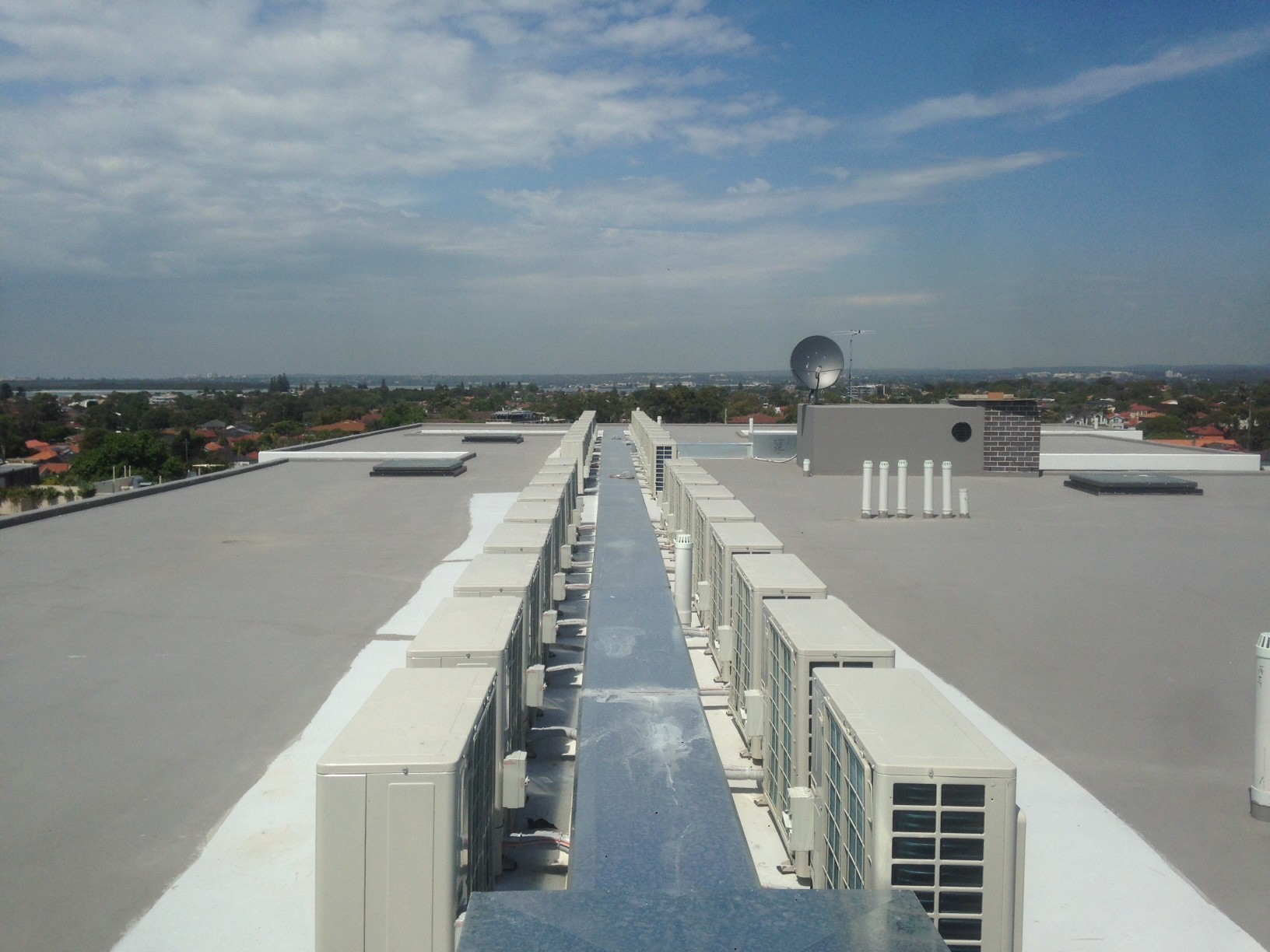 commercial air conditioning project Sydney