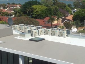 commercial air conditioning project Sydney areas we service